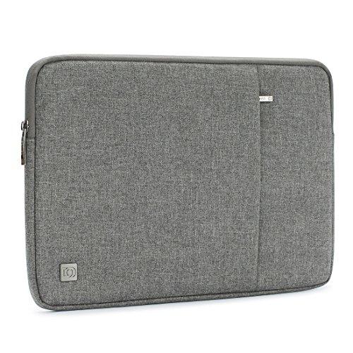 "DOMISO 10.1\"" 10\"" Laptop Sleeve Vertikalen Stil Wasserabweisend Laptop Sleeve Case Bag Hülle Schutzhülle Notebook Tasche Schutzabdeckung für 9.7 Zoll iPad Pro, Ultrabook Netbook Tablet (grau)"