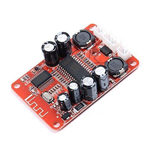 ARCELI TDA8932 2x15W Stereo Bluetooth Audio Empfänger DC 10 V-18 V Dual Channel Audio Endverstärkerplatine für Bluetooth Lautsprecher