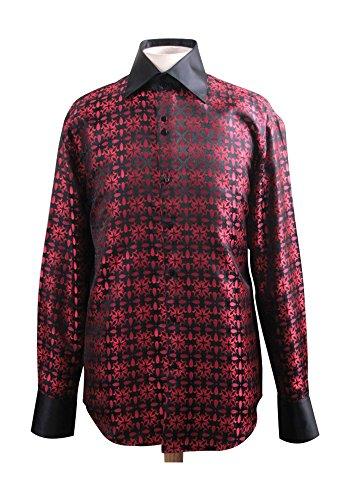 Sunrise Outlet -  Camicia da cerimonia  -  Vestito modellante  - Uomo Rosso