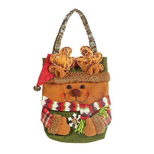 Luminiu Weihnachten Candy Bag Geschenk Weihnachten Bag Weihnachtsmann Elch Bär Geschenk Weihnachten Bag Candy Gift Bag Holiday Supplies