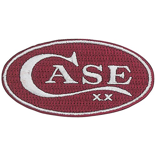 Case Oval Patch. Red