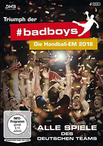 Triumph der badboys - Die Handball-EM 2016 - Alle Spiele des deutschen Teams [4 DVDs] hier kaufen