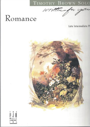 Romance - Timothy Brown - Late Intermediate Piano Solo