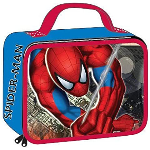 Marvel Spider-Sense Spider-Man Insulated Lunch Bag Tote - Rectangular