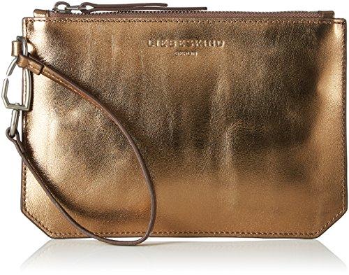 Liebeskind Berlin Damen Insidew7 Innerm Taschenorganizer, Gold (Warm Beige), 1 x 17 x 22 cm (Aus Leder Clutch Gold Handtaschen)