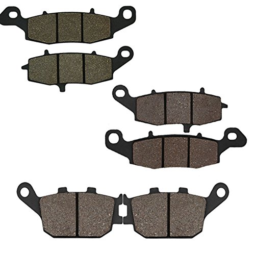 Cyleto anteriore e posteriore pastiglie freno per Suzuki DL1000Vstrom 1000200220032004200520062007200820092010/DL 1000V-strom Adventure 2012