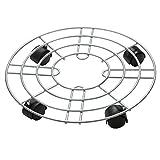 FLORA GUARD Pflanzenroller Glas-Multiroller, Durchmessser 35CM (Eisen)