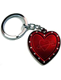 (KEY00135) Heart Shape Love Keychain For Him & Her Best Collectible & Gift Item