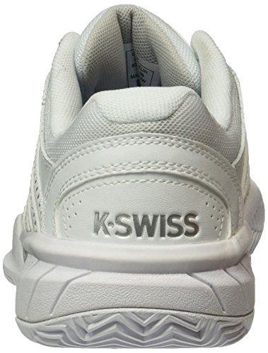 K-SWISS EXPRESS LTR HB WHITE/SILVER White/Silver