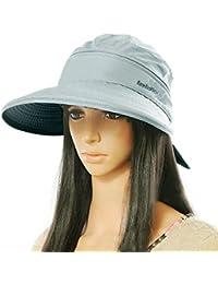 Amazon.es  sombrero playa mujer - LA HAUTE   Pamelas   Sombreros y ... 478cb9c54fd