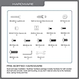 QualGear Articulating Wall Mount for TV Upto 23-42-Inch - Black Bild 5