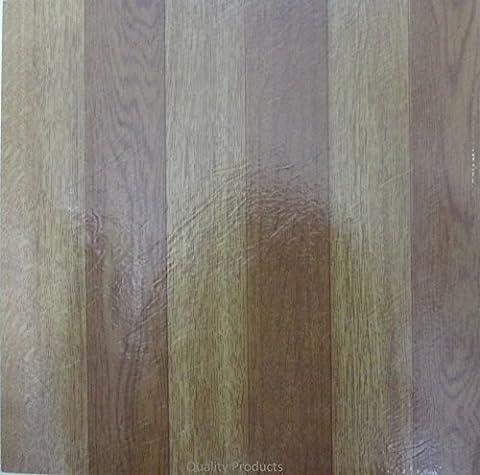 30 x Vinyl Floor Tiles - Self Adhesive - Kitchen / Bathroom Sticky - Brand New - Oak Wood Effect 311698