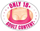 SkyBug Adult Content Bumper Sticker Vinyl Art Decal for Car Truck Van Window Bike Laptop