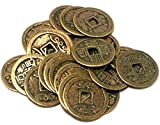 Find Something Different 24 Loose Chinese Antiqued Lucky and Wealth Copper Coins