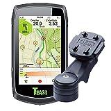 TEASI One Classic - Fahrrad- & Wandernavigation+USB Netzteil+ optionales Zubehör(Teasi Classic + Vorbauhalter, Ohne Zubehör)