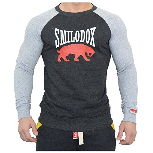 Smilodox Herren Sweatshirt Flash Classic