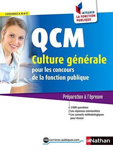 QCM Culture générale