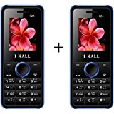 I KALL K24 1.8 Inch Display Set Of Two Mobile - Blue