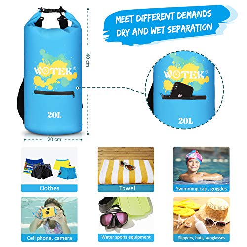 Zoom IMG-3 wotek sacca impermeabile dry bag