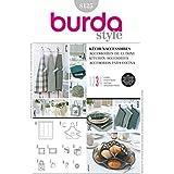 Patron de couture Burda 8125–Tablier et accessoires cuisine
