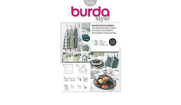 Burda Nähmuster-Buch: Küchenaccessoires (8125): Amazon.de: Küche ...
