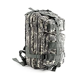 AllRight 30L Military Tactical Backpack Camouflage Rucksacks For Men ACU Digital