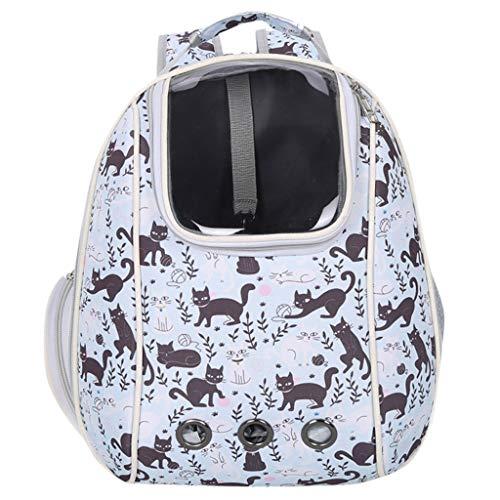 ODJOY-FAN Handbag für Haustier, Mode Karikatur Haustiernest Katzenrucksack Luft Box Hund Lieferungen Haustier aus Rucksack Backpack(B,1 PC)
