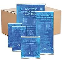 KK-Hygiene Kalt-Warm Kompressen Set Mehrfachkompressen 5 teiliges Set mit verschiedenen Größen, mikrowellengeeignet preisvergleich bei billige-tabletten.eu