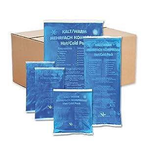 KK-Hygiene Kalt-Warm Kompressen Set Mehrfachkompressen 5 teiliges Set mit verschiedenen Größen, mikrowellengeeignet
