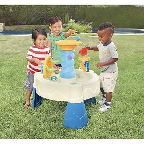 Little Tikes Table de Jeu Aquatique Jouet de Bain Jeu d'eau pour Enfant