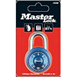 Master Lock Rundes Zahlenschloss 38 mm - Farblich sortiert, 1533EURD