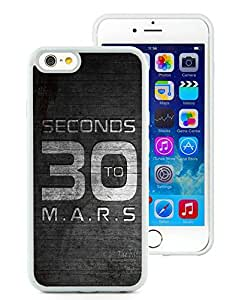 30 seconds to mars White High Quality Silicone TPU Iphone 6 4.7 Inch Phone Case
