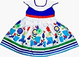 Perky Girls Blue Sun Flower Dress (3-4 Y...