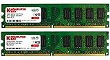 Komputerbay 4GB (2x2GB) DDR2 667MHz PC2-5300 PC2-5400 DDR2 667 (240 PIN) DIMM Memoria Desktop