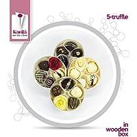 Karila 5 Trufas De Chocolate (truffes au framboise, myrtille, fraise, cerise,