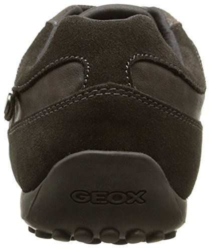Geox U Snake B, Baskets Basses homme Marron (C6372)