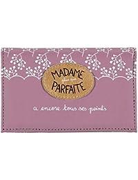 Derrière La Porte DLP : Porte-Papiers de Voiture - Madame Parfaite Bon Point - Pochette pour Femme