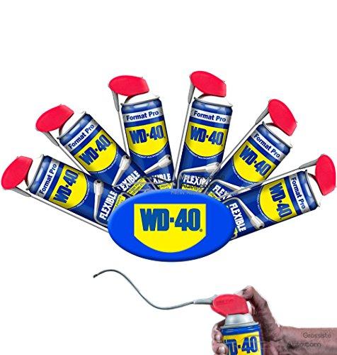 Lot de 6 Nouveau WD40 Lubrifiant Multifonction flexible 600ml