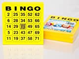 200 Large Bingo Cards for Seniors 24 75 with Joker
