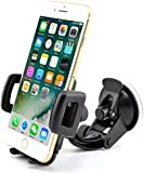 in Car Phone Holder Best Universal in Car One Touch in Car Holder Windscreen Cradle for iPhone 7 / 6s / 6 / 5s / 5c / 4S / 4 / 3GS Samsung Galaxy Note II S5 /S4 /S3 / Note Epic Touch 4G Nokia Lumia 900 HTC One X EVO 4G Google Nexus BlackBerry Torch LG Revolution
