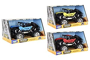 GLOBO- Friction Die Cast Cross-Country Cars 3 (38949), (1)