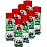 8x kwasny 233074Auto de K Special de sillín de freno Laca aerosol rojo 400ml
