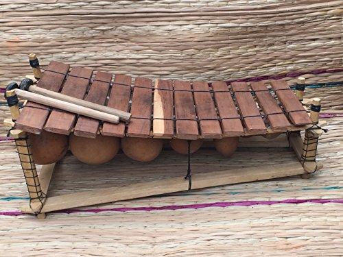 genuine-african-wooden-12-key-xylophone-fair-trade-from-ghana