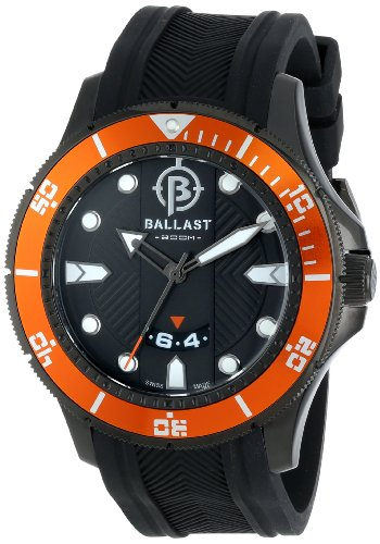 Ballast Men's BL-3114-0A Vanguard Analog Display Swiss Quartz Black Watch