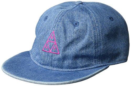 HUF Men's Formless Denim Triple Triangle, Indigo, O/S