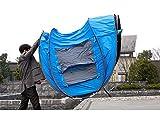 Ghlee 2 3 4 Person Sekunden Pop Up Schnelle Eröffnung Camping Wandern Große Instant Zelt für Outdoor Sport Camping Wandern Reisen Strand (Blau)… -
