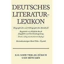 Deutsches Literatur-Lexikon: Tikla - Trystedt