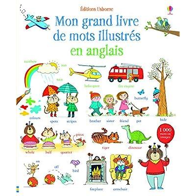 Mon grand livre de mots illustrés en anglais