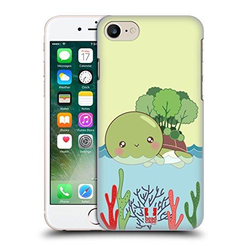 Head Case Designs Essen Kawaii Schildkröte Ruckseite Hülle für Apple iPhone 5 / 5s / SE Insel