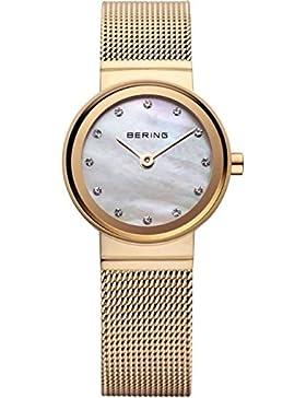 Bering Time Damen-Armbanduhr XS Classic Analog Quarz Edelstahl 10122-334